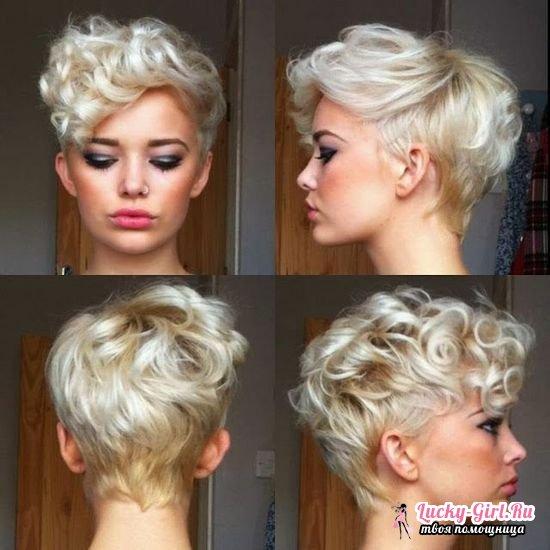 Химия волос для женщин, виды химии: мокрая, крупная или