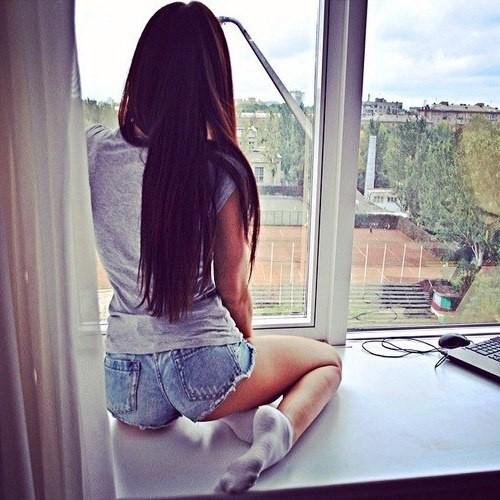 Фото брюнеток девочек на аву 31