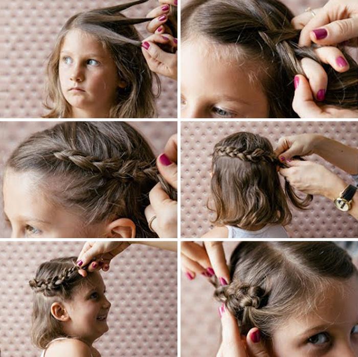 Как сделать колосок на своих волосах 622