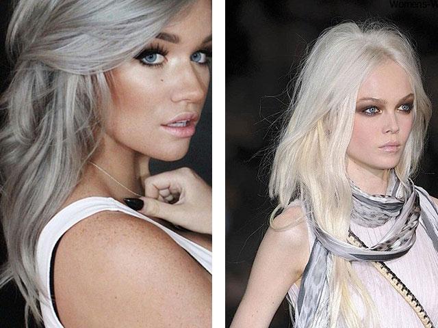 Блонда в возрасте очень горячая