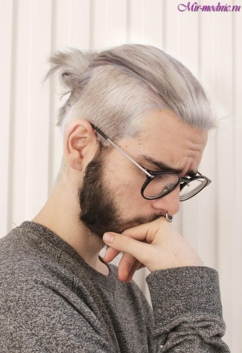 Фото причесок с длинными волосами и выбритыми висками 34